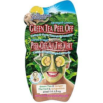 MONTAGNE JEUNESSE Mascarilla facial desintoxicante al té verde Envase 10 ml