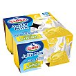 Gelatina con leche sabor limón 4 x 90 ml CLESA