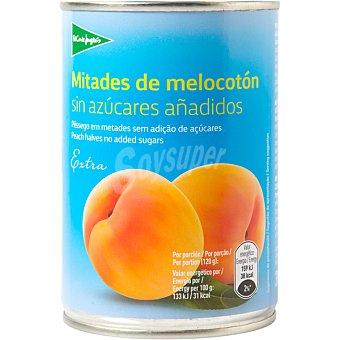 Aliada Melocotón en mitades extra sin azucares añadidos Lata 240 g neto escurrido