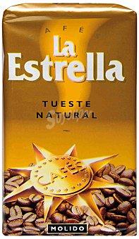 La Estrella Café molido natural Paquete 250 g