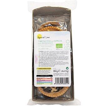Special Line Tartaletas de espelta con arándanos  Pack de 4x45g