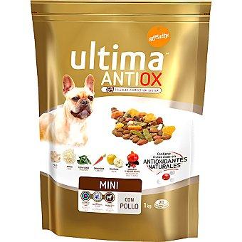 AFFINITY ULTIMA ANTIOX MINI Alimento para perros de raza mini con pollo y frutas con antioxidantes naturales bolsa 1 kg Bolsa 1 kg