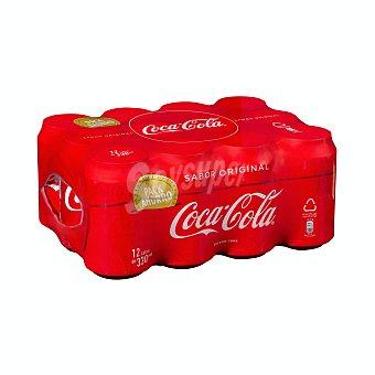 Coca-Cola Refresco de cola Pack 12 x 33 cl
