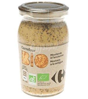 Carrefour Bio Mostaza a la antigua 210 g