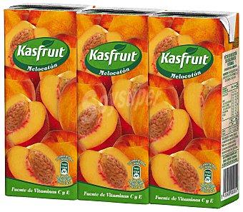 Kas Kasfruit Zumo De Melocotón (pack 3X200 Ml) 600 ml