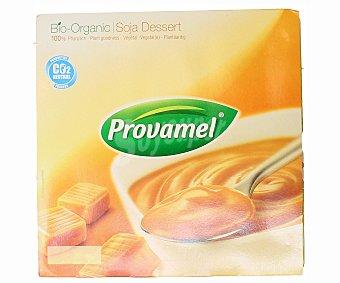 Provamel Postre de soja sabor caramelo Pack 4 x 125 g