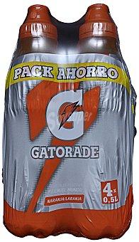 Gatorade Bebida isotónica de naranja Pack 4x50 cl