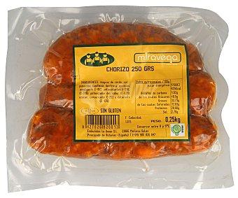 Miravega Chorizo de Aguion, elaborado sin gluten 3 uds