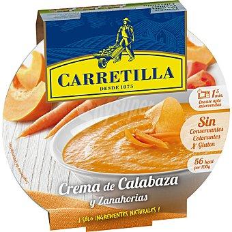 CARRETILLA crema campestre de calabaza y zanahoria bol 300 g