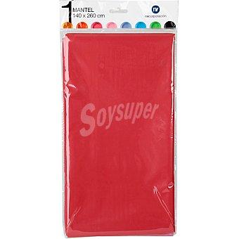 Nv corporacion Mantel individual color rojo 140X260 cm