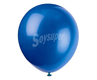 PARTYGRAM Globos de 30,5 centímetros de color azul 15 unidades
