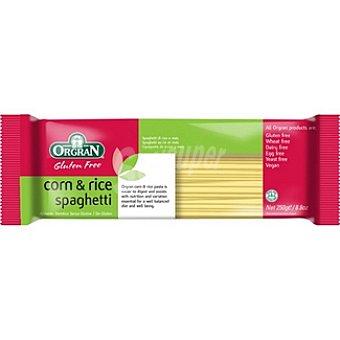 ORGRAN Free From Espaguetis de maíz y arroz sin gluten Envase 220 g