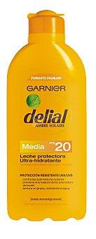 Delial Garnier Leche protectora ultra-hidratante FP-20 resistente al agua Frasco 400 ml