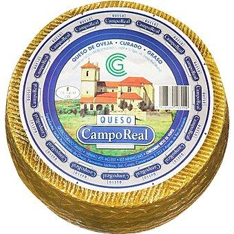 Campo Real Queso curado de oveja  3 kg (peso aproximado pieza)