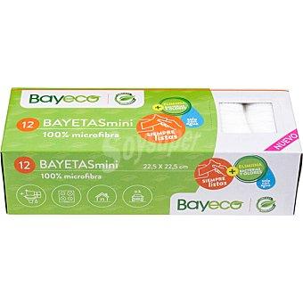 Bayeco Bayetas microfibras mini Caja 12 unidades