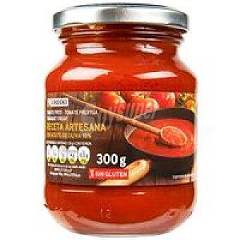 Eroski Tomate frito en aceite de oliva artesano Frasco 300 g
