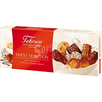 TEKRUM Finest Selection Galletas surtidas Caja 100 g