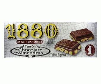 1880 Turrón de Chocolate Sin Azucar 200g
