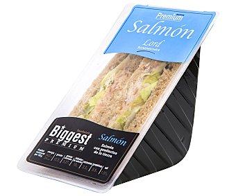Lord Sandwiches Sándwich con jugosas lonchas de salmón especiado 170 gramos