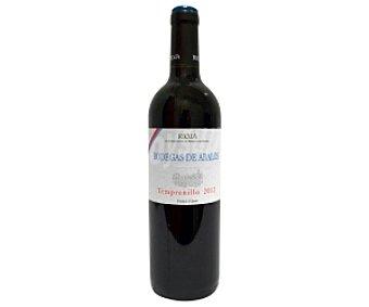 BODEGAS DE ABALOS Vino tinto joven Botella de 75 Centilitros