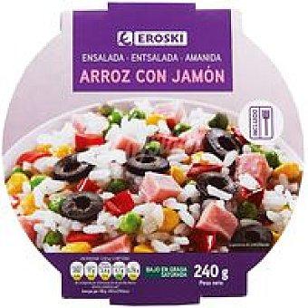Eroski Ensalada de arroz con jamón 240 g