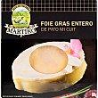 Foie gras entero de pato mi cuit  envase 80 g Martiko