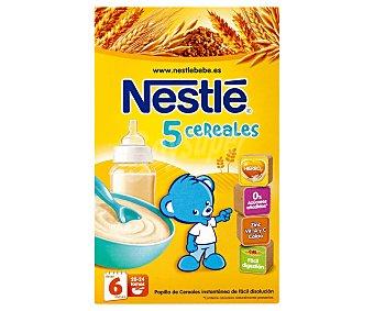 Nestlé Papilla 5 Cereales desde 6 meses 600g