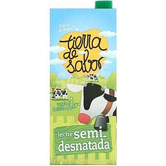 Tierra de Sabor Leche semidesnatada Brik 1 litro