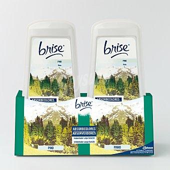 Glade Brise Ambientador Absorbeolores Pino Duplo 2 unidades x 150 g