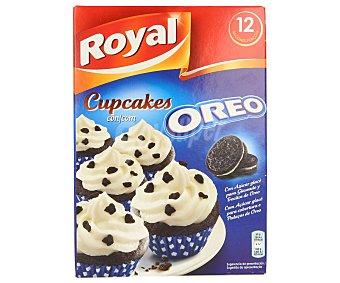 Royal Preparado para hacer cupcakes con trocitos de oreo Caja de 280 g