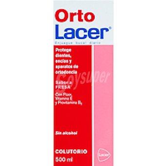 ORTOLACER Colutorio de fresa Botella 500 ml
