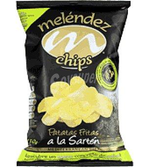 Melendez Patatas chips en aceite de oliva virgen extra 130 g