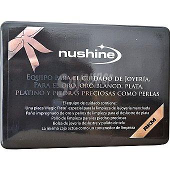 RKM Nushine kit completo limpiador de joyas oro plata platino y piedras preciosas como perlas