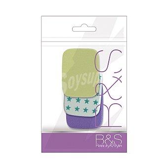 Beauty&Style Esponja para maquillar Beauty & Style 3 ud