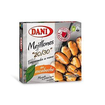 Dani Mejillón en escabeche 20/30 piezas Lata 160 gr