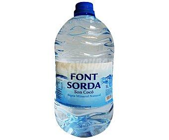 Font Sorda Agua Mineral 5 Litros