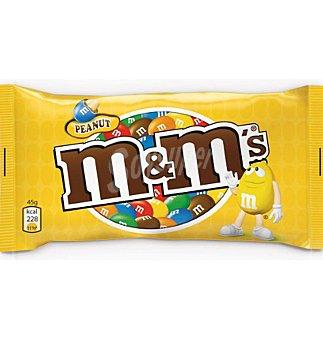 m&m's Grageados de cacahuete recbiertos de chocolate y azúcar 45g