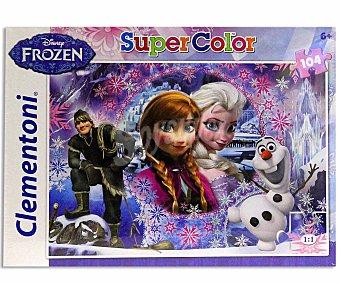 CLEMENTONI Puzzle Supercolor de 104 Piezas 1 Unidad