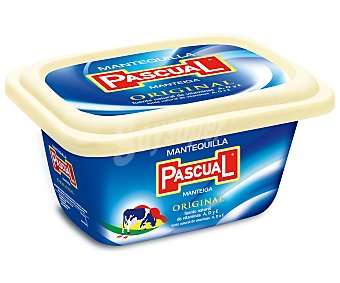 Pascual Mantequilla facil untar sin sal Tarrina 250 grs