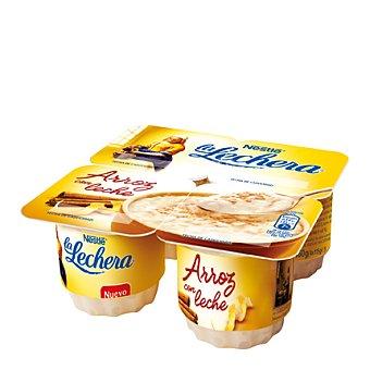 La Lechera Nestlé Arroz con leche Pack 4 Unidades de 115 Gramos