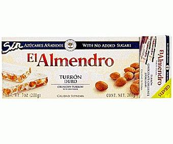 El Almendro Turrón duro sin azucares añadidos 200g