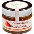 Crema de queso curado de oveja con jamón ibérico gourmet Tarro 150 g Mykes