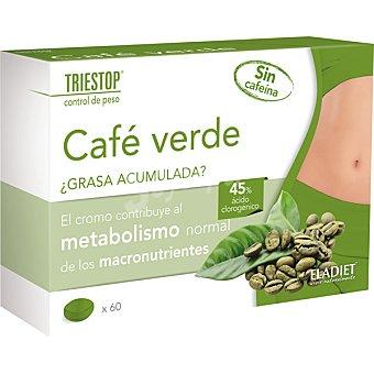 Triestop Café verde ayuda al metabolismo de los macronutrientes Caja 60 comprimidos