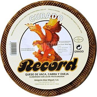 Record Queso curado mezcla peso aproximado pieza 3 kg