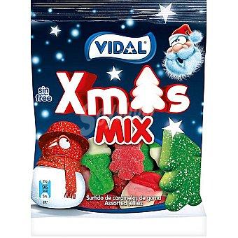 Vidal surtido de caramelos de goma Xmas bolsa 140 g