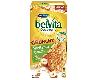 Belvita Fontaneda Crunchy Avellanas 5 cereales completos Caja de 300 g