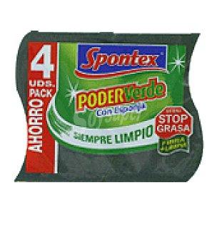 Spontex Poder verde 4 unidades