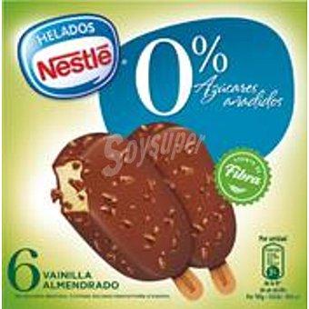 Helados Nestlé Minibombón almendrado sin azúcar Pack 6x40 ml