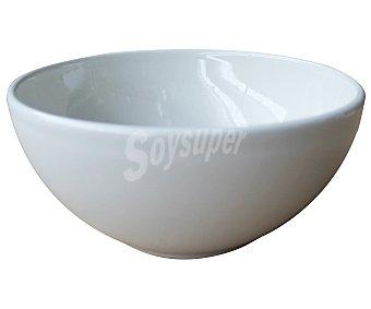 EÑE Tazón alto de desayuno fabricado en loza color blanco 1 unidad