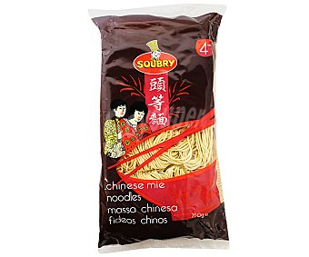 SOUBRY Fideos chinos instantaneos paquete 250 g